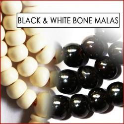 Black and White Bone Malas (34)