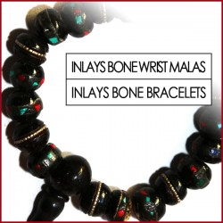 Inlays Bone Wrist Malas (15)