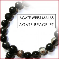 Agate Stone Wrist Malas (21)