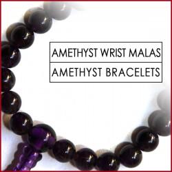 Amethyst Stone Wrist Mala (11)