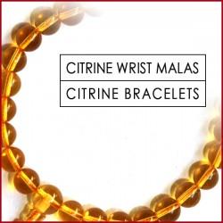 Citrine Stone Wrist Mala (11)