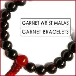 Garnet Stone Wrist Mala (10)