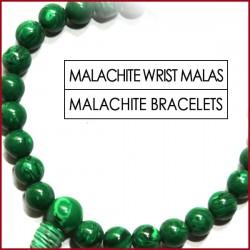 Malachite Stone Wrist Mala (1)
