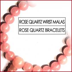 Rose Quartz Stone Wrist Mala (19)