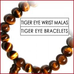 Tiger-Eye Stone Wrist Mala (19)