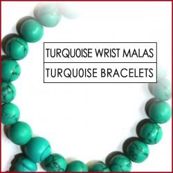 Turquoise Stone Wrist Mala (5)
