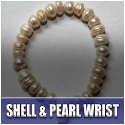 Shell and Pearl Wrist Mala (7)