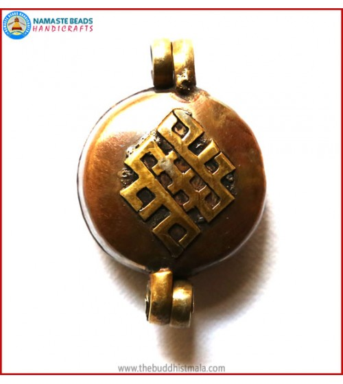 """Endless Knot"" Copper Ghau"