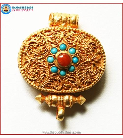 Gold Plated Copper Ghau