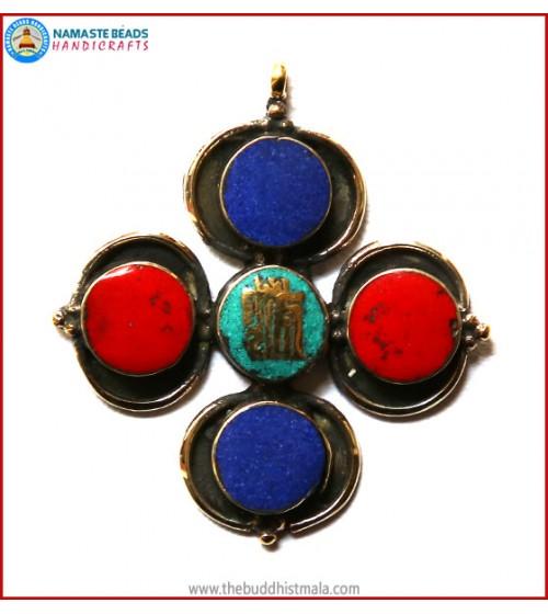 """Kalachakra"" Symbol Pendant"