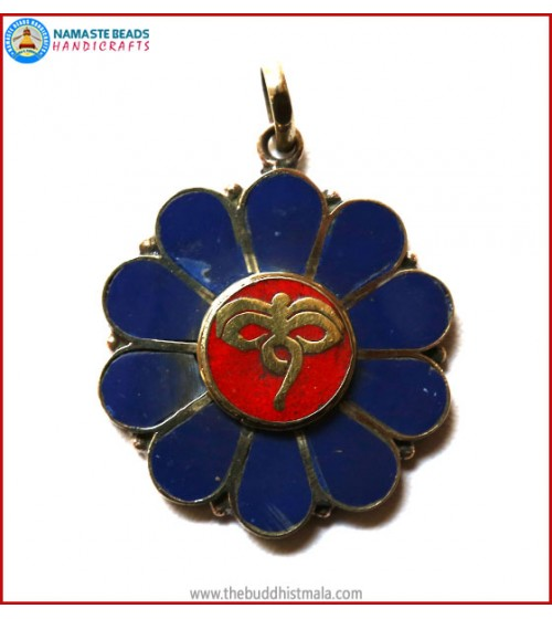 """Buddha-Eye"" Symbol Brass Pendant"
