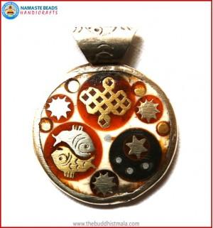 Buddhist Symbol Pendant