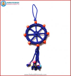 Blue String Dharma Wheel