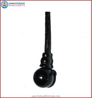 Black Onyx Guru Bead