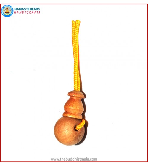 Sandal Wood Guru Bead