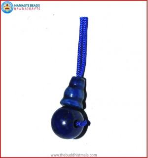 Afghani Lapis Lazuli Stone Guru Bead