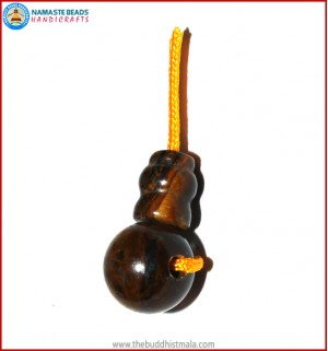Tiger-Eye Stone Guru Bead