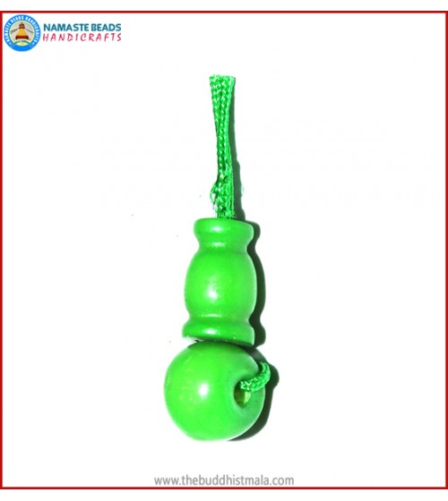 Green Bone Guru Bead