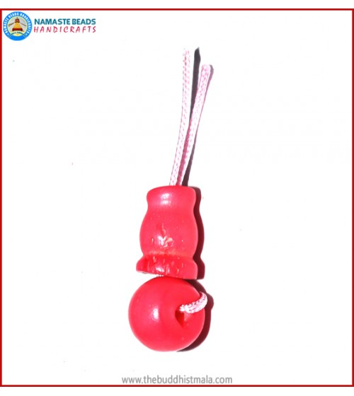 Pink Bone Guru Bead