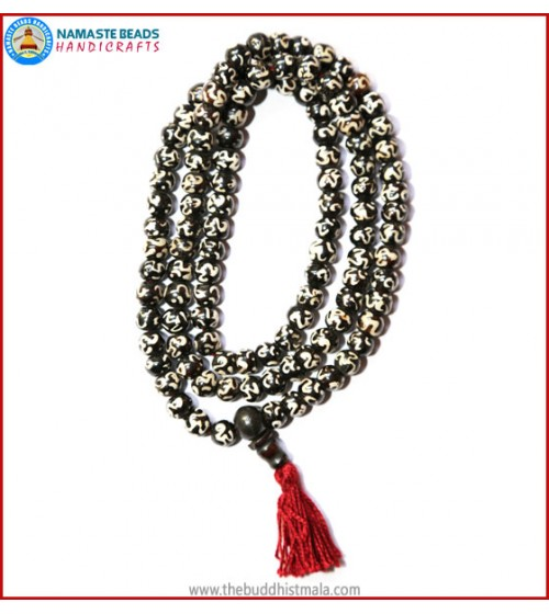 """OM"" Itching Bone Mala"