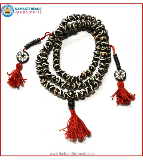 """EYE"" Itching Bone Mala"