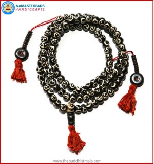 """YING YANG"" Itching Bone Mala"