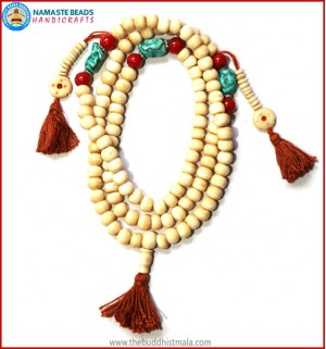 Antique Looks Bone Mala