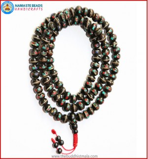 Inlays Black Bone Mala