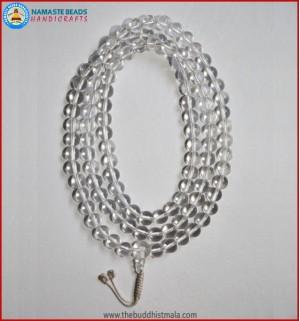 Fixed Knot Crystal Mala