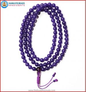 Purple Onyx Mala