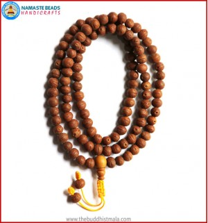Smooth Raktu Seed Mala