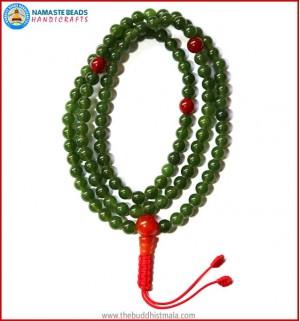 Tibetan Dark Jade Stone Mala
