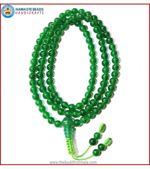 Green Jade Stone Mala