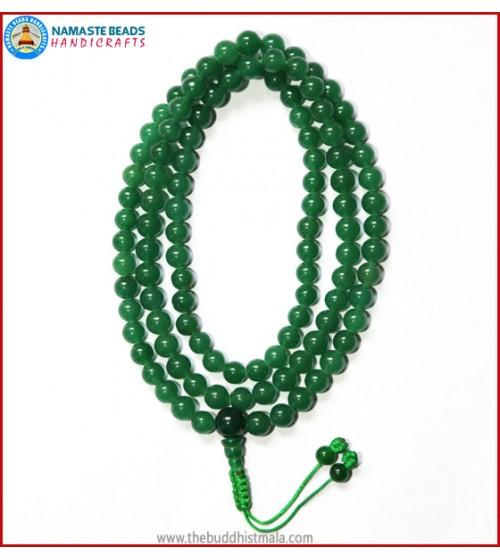 Tibetan Jade Stone Mala