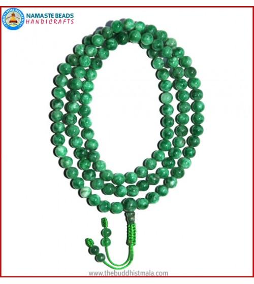 Taiwanese Jade Stone Mala