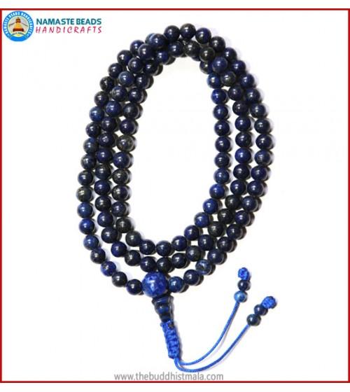 Afghani Lapis Lazuli Stone Mala