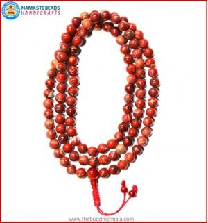Red Jasper Stone Mala