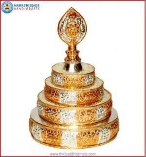 Silver & Gold Plated Mandala Set