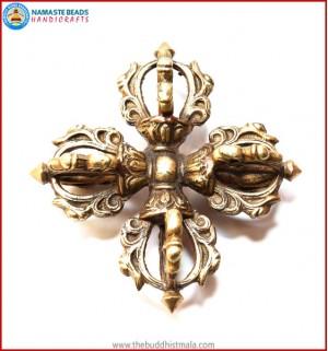 Brass Double Dorje Heavy