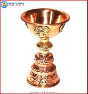 Copper Butter Lamp