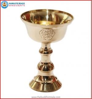 Brass Butter Lamp