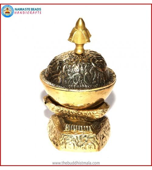 """Brass Kapala Set """"Small"""""""