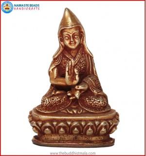 """""""Padmasambhava Buddha"""" Brass Statue"""