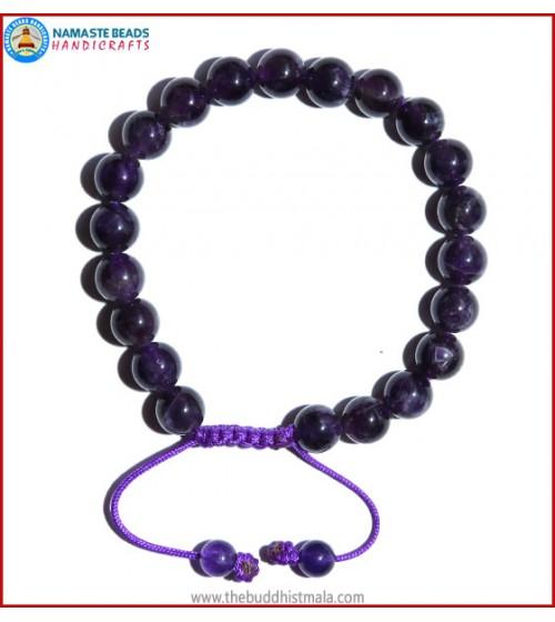 Amethyst Stone Bracelet
