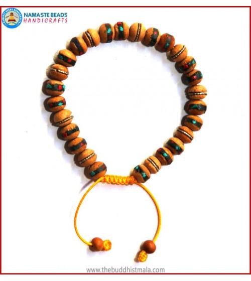 Inlaid Wood Bracelet