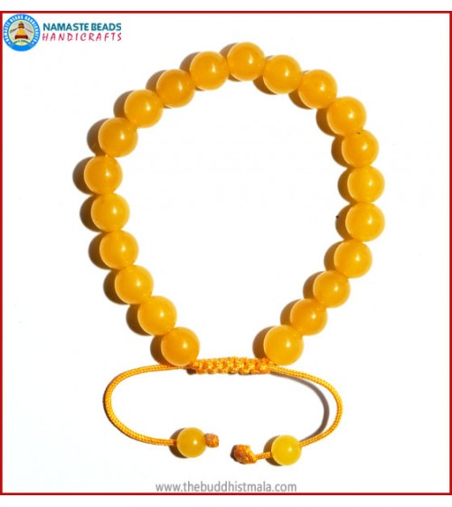 Honey Yellow Jade Bracelet
