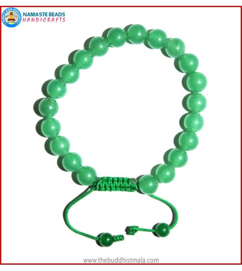 Light Green Jade Stone Bracelet