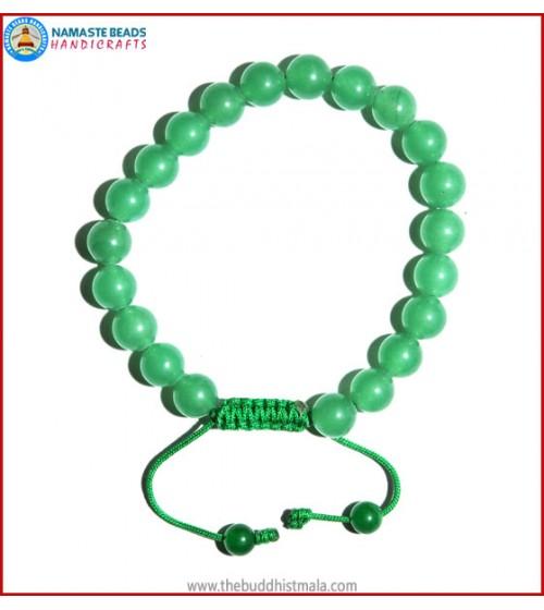 Light Green Jade Stone Bracelet