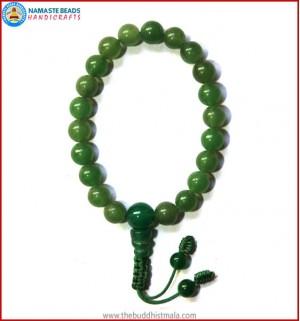 Best Quality Tibetan Jade wrist Mala