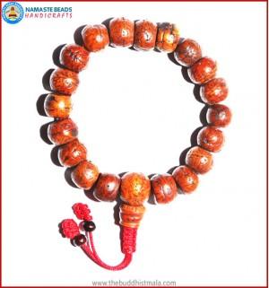 Brown Bodhi Seed Wrist Mala